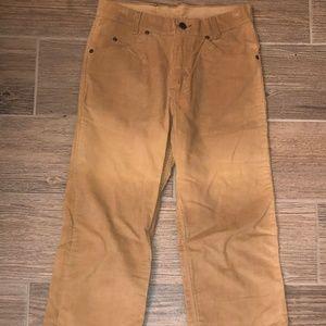 Vintage 1970's GAP Bootcut Cord Pants Sz. 28 x 33